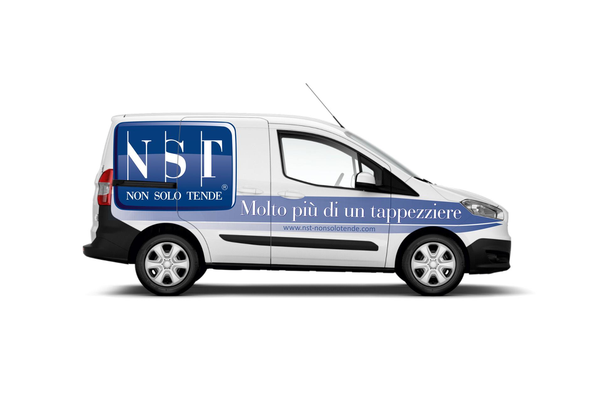 Casarotto Design grafica adesivi decalcomanie automezzi aziendali castiglione delle stiviere mantova brescia furgone nst 03