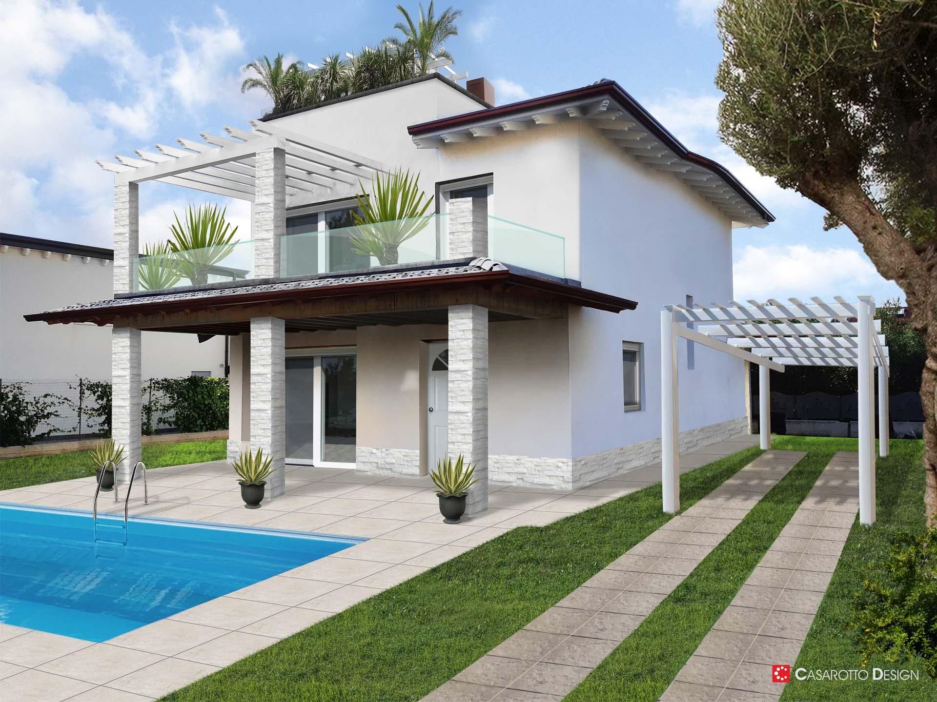 Render rendering abitazioni architettura fotomontaggi casarotto design brescia mantova verona outdoor esterni