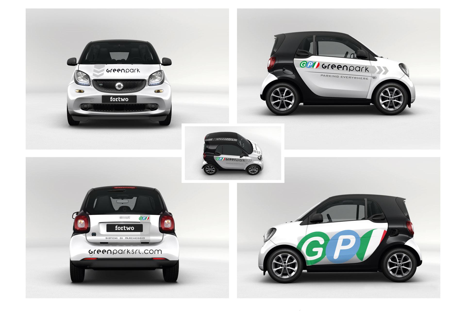 Smart fortwo aziendale pubblicitaria adesivi decalcomanie casarotto design e comunicazione castiglione delle stiviere 01