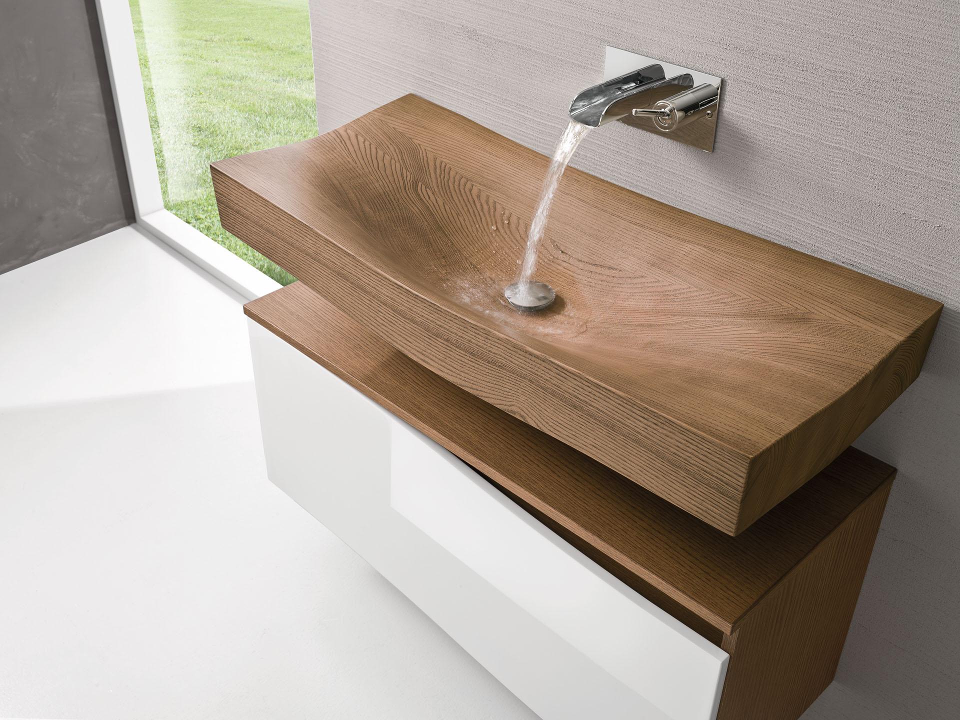 tao spoldi ideabagno lavabo legno simone casarotto design wood washbasin home 2