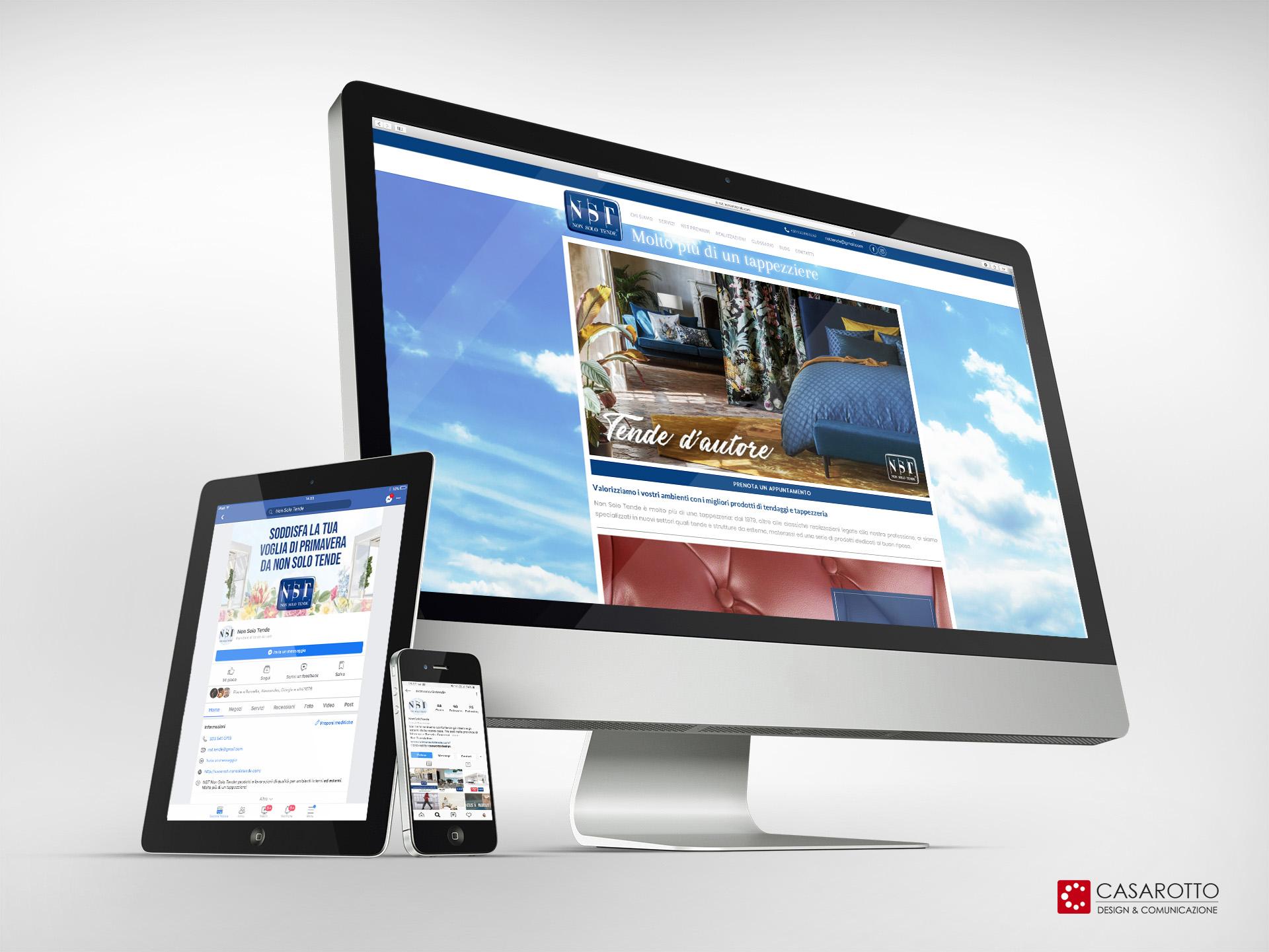 casarotto design comunicazione architettura agenzia castiglione stiviere mantova social siti web brand non solo tende pubblicità