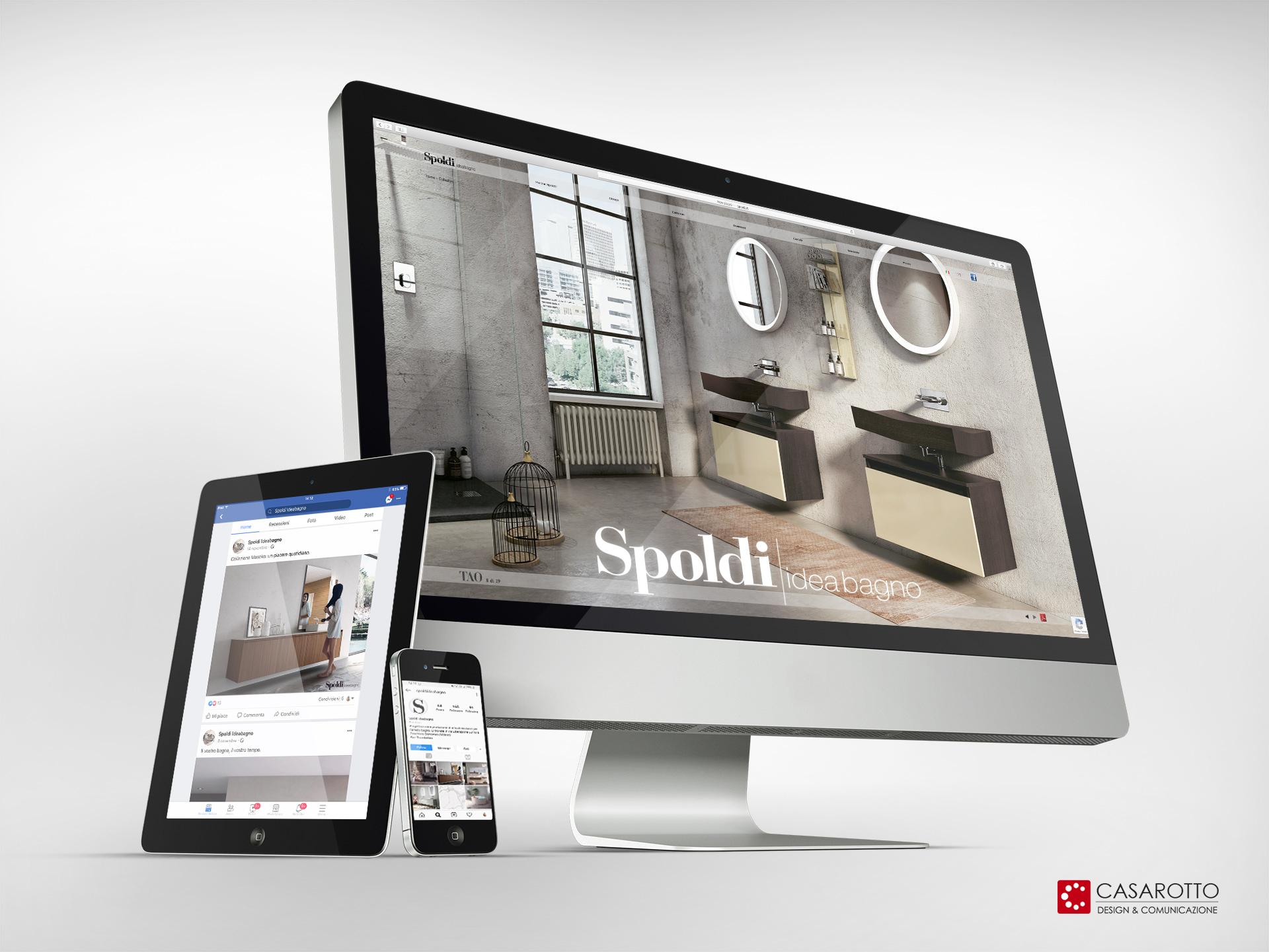 casarotto design comunicazione castiglione stiviere mantova social network realizzazione mantenimento siti web design brand identity