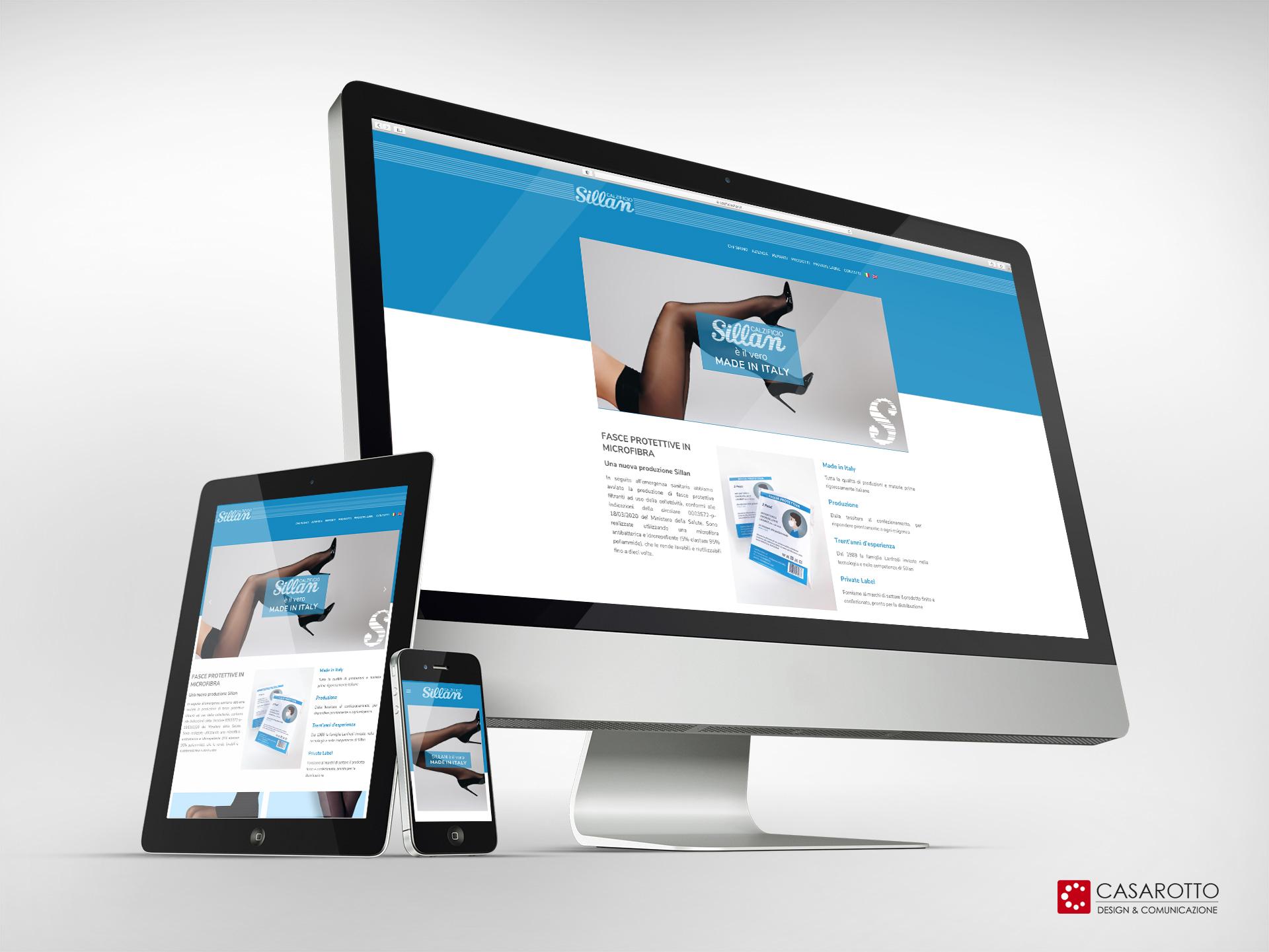casarotto design comunicazione castiglione stiviere mantova social network realizzazione siti web design brand identity sillan