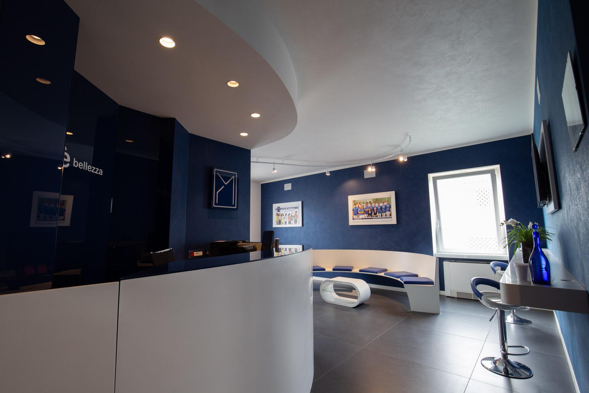 architettura architetto interni progettazione arredamento negozi simone casarotto design studio dentistico mondina castiglione design arredatore mantova